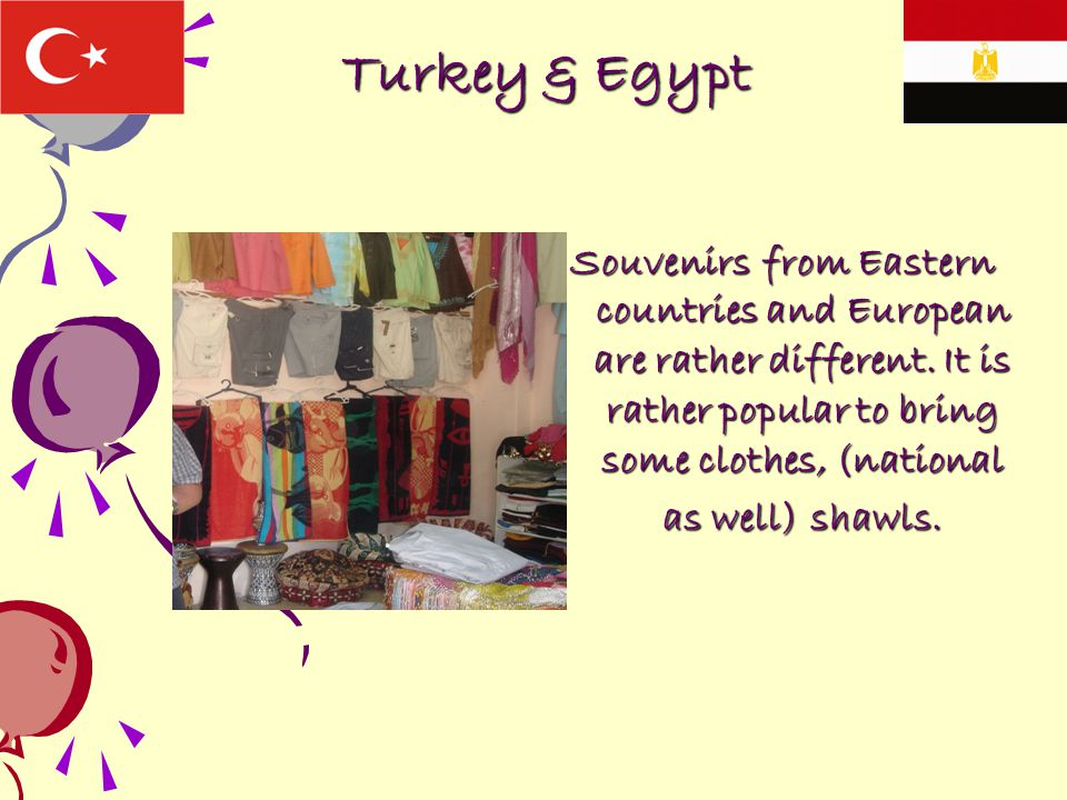 Turkey & Egypt