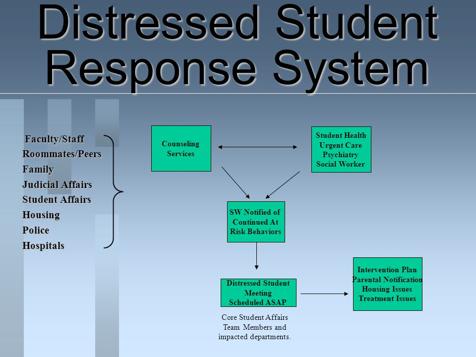 Distressed Student Response System
