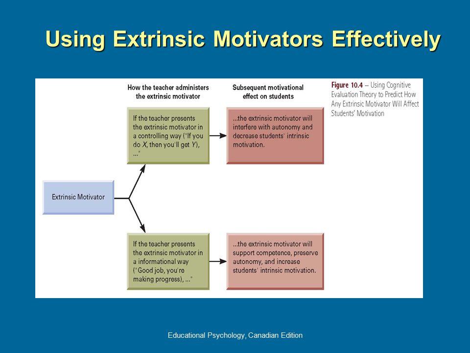 Using Extrinsic Motivators Effectively