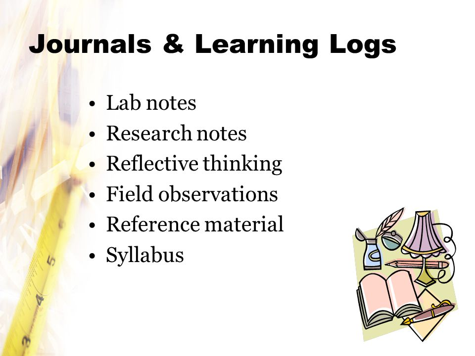 Journals & Learning Logs