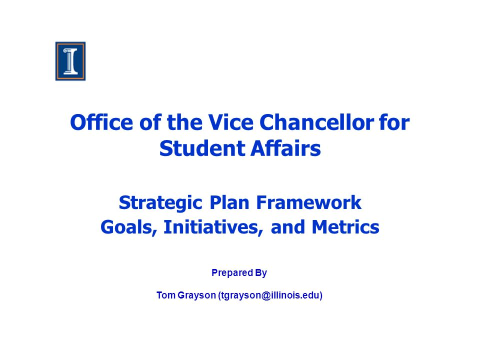 Office of the Vice Chancellor for Student Affairs