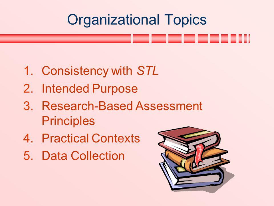 Organizational Topics