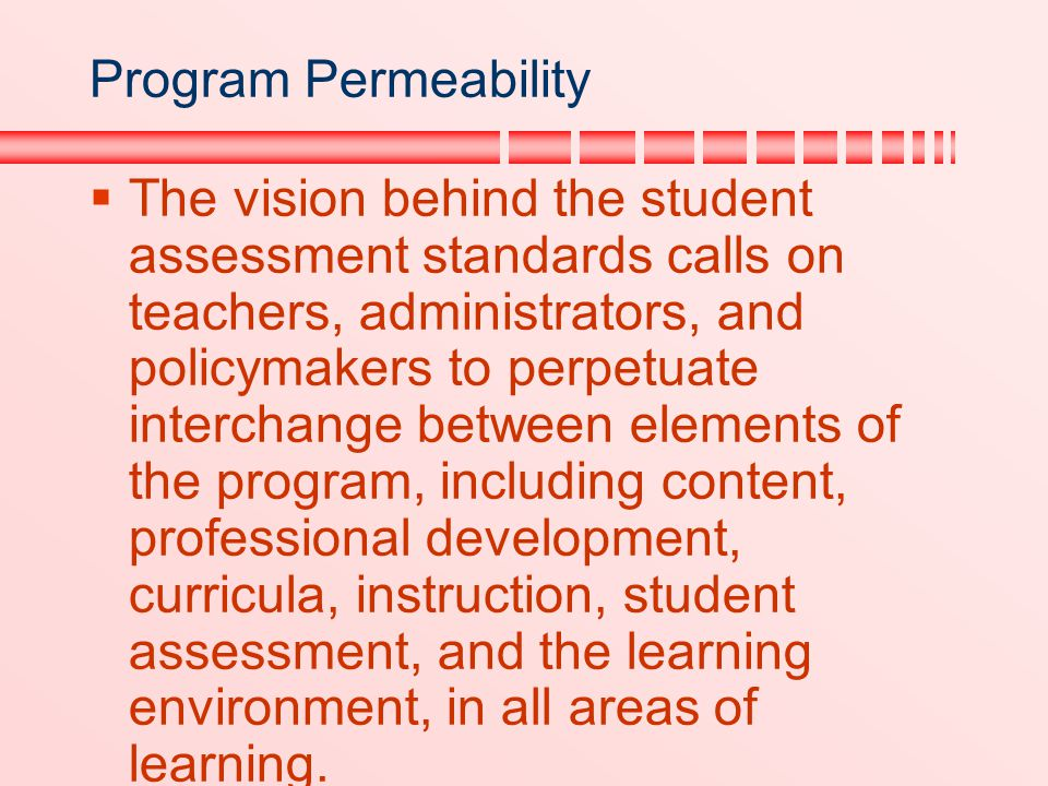 Program Permeability