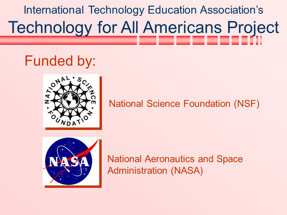 International Technology Education Association's Technology for All Americans Project