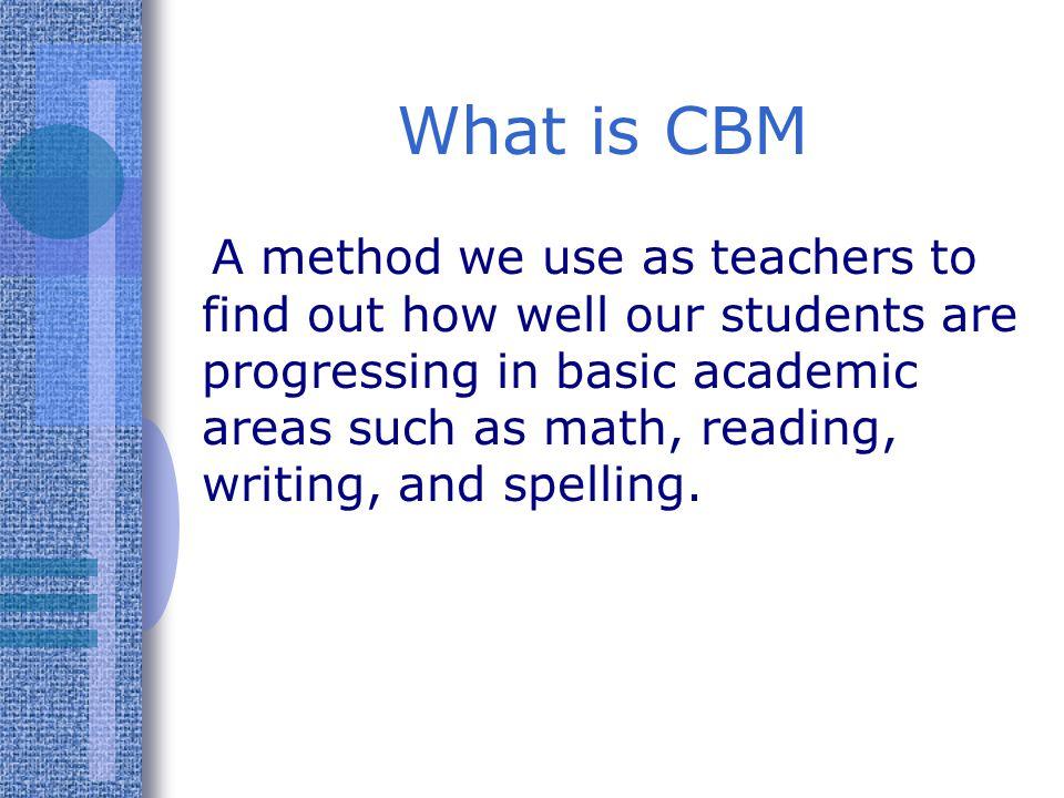 What is CBM
