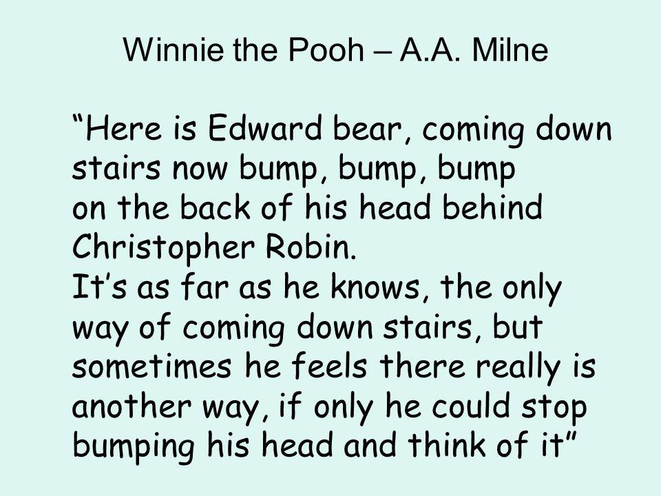 Winnie the Pooh – A.A. Milne