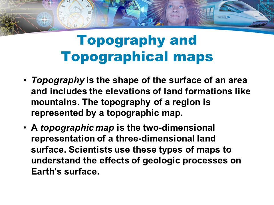 Topography and Topographical maps