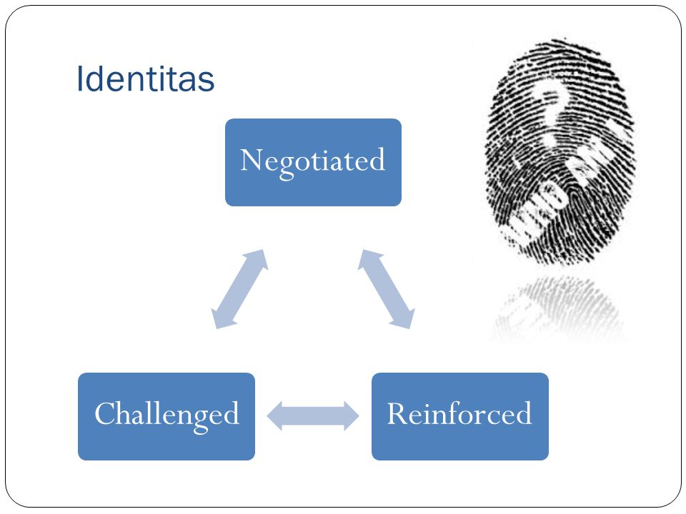 Identitas Negotiated Reinforced Challenged