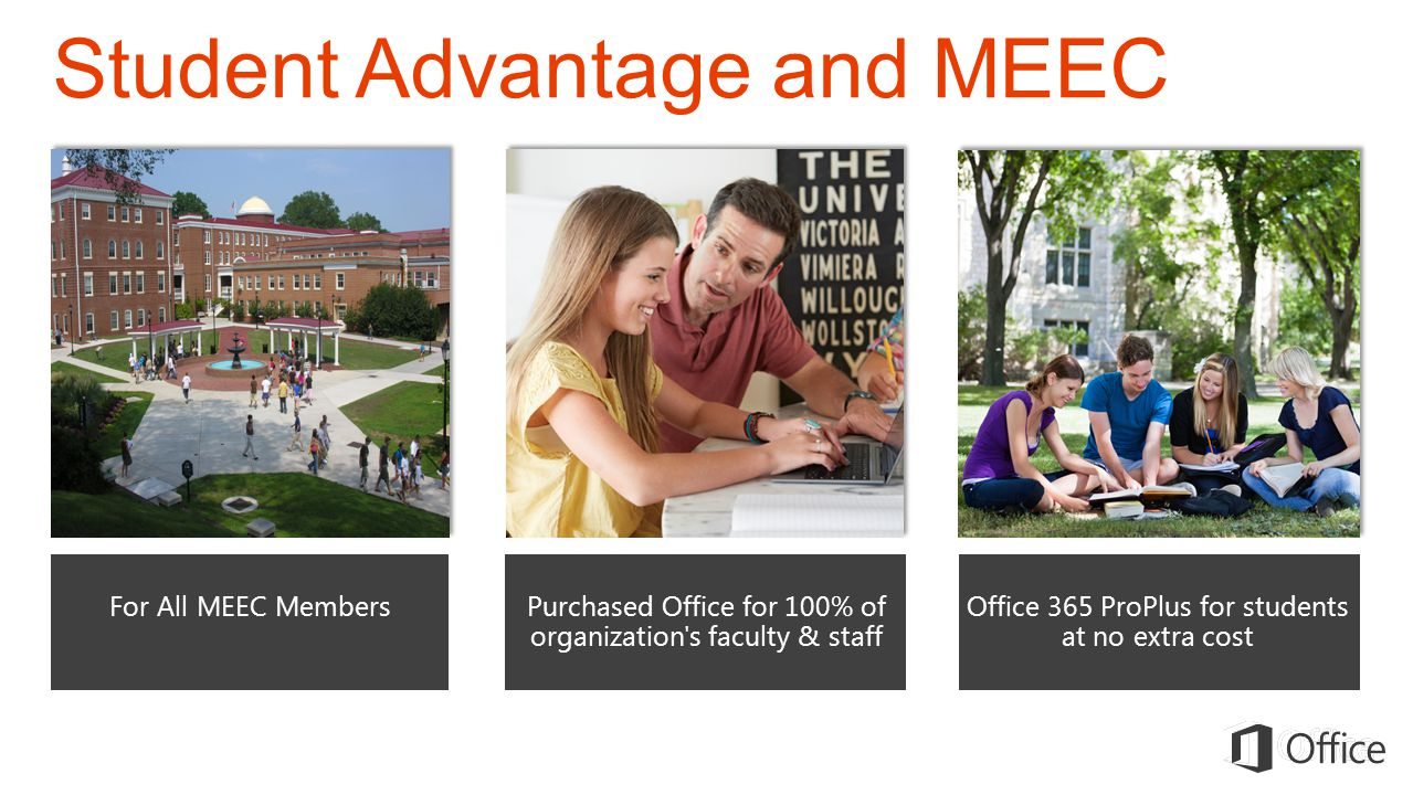 Student Advantage and MEEC