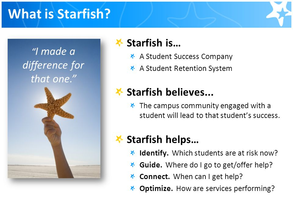 Starfish Troy University Ppt Video Online Download