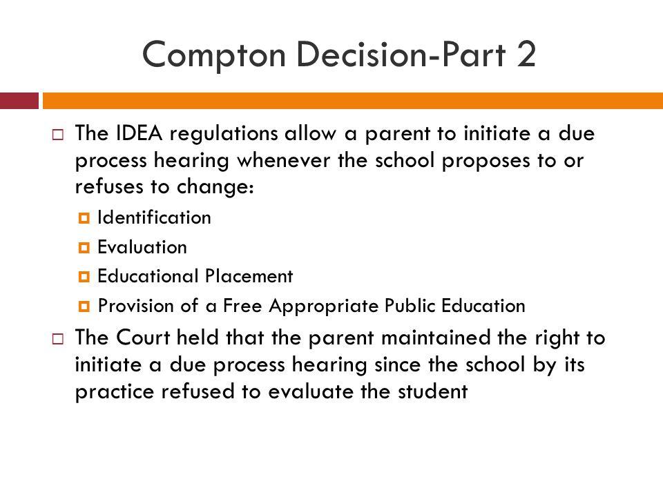 Compton Decision-Part 2