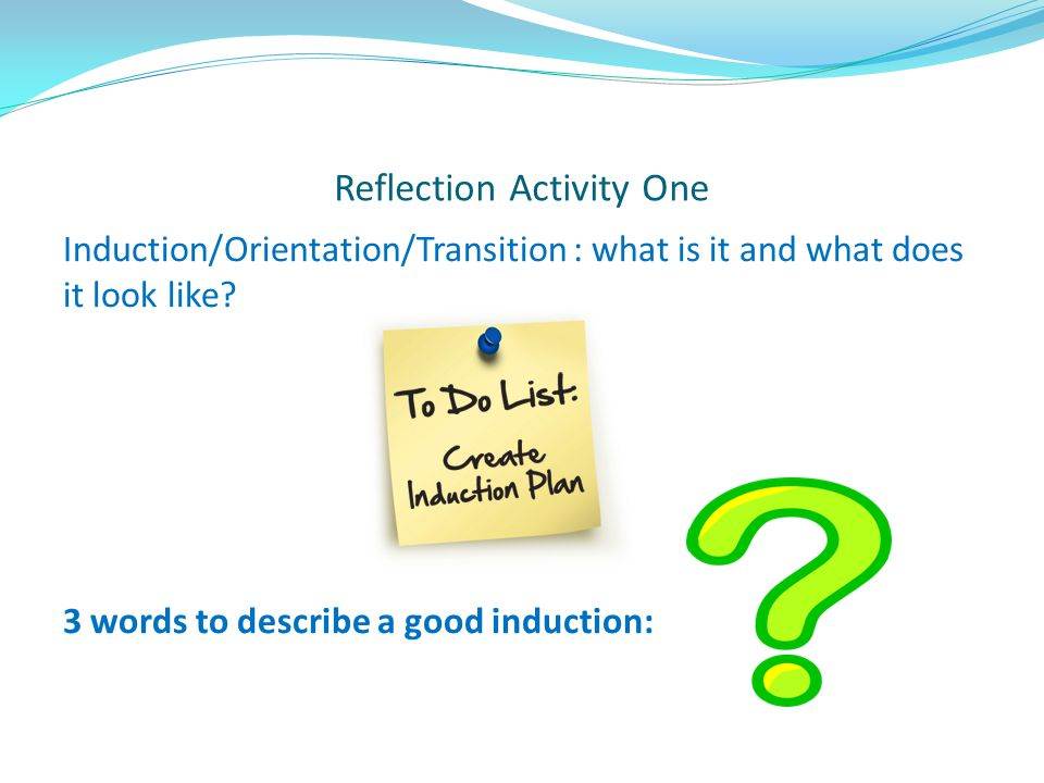 Reflection Activity One