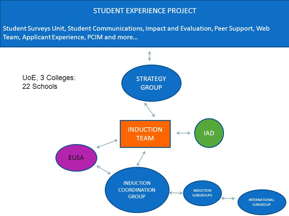 STUDENT EXPERIENCE PROJECT