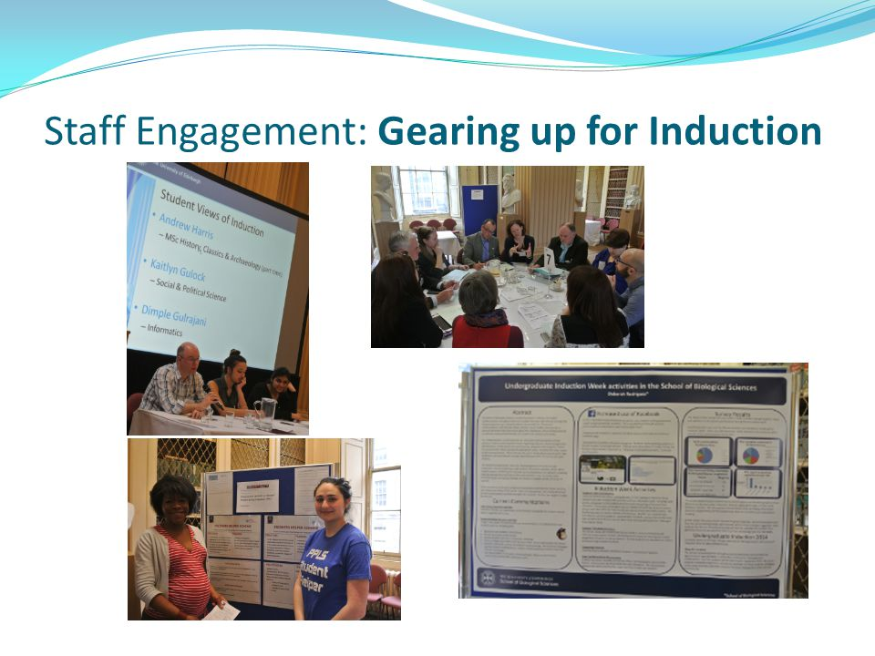 Staff Engagement: Gearing up for Induction