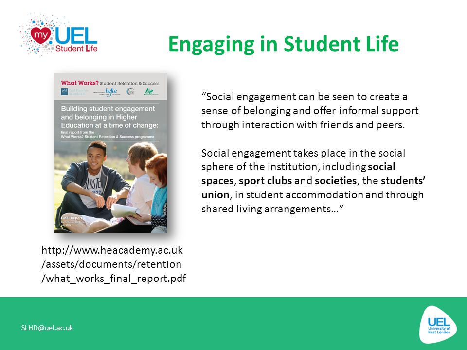 Engaging in Student Life