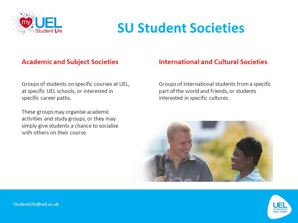 SU Student Societies Academic and Subject Societies
