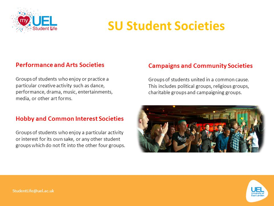 SU Student Societies Performance and Arts Societies