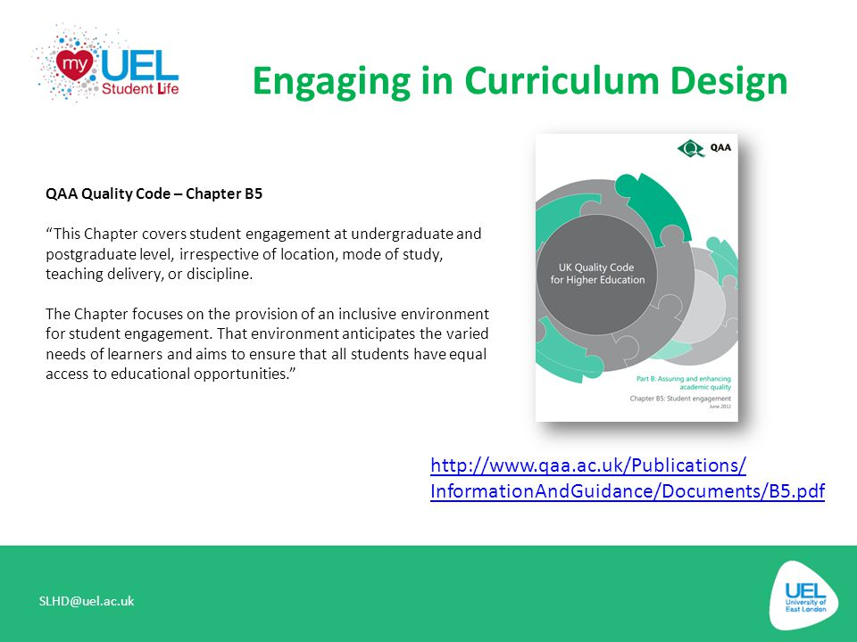 Engaging in Curriculum Design