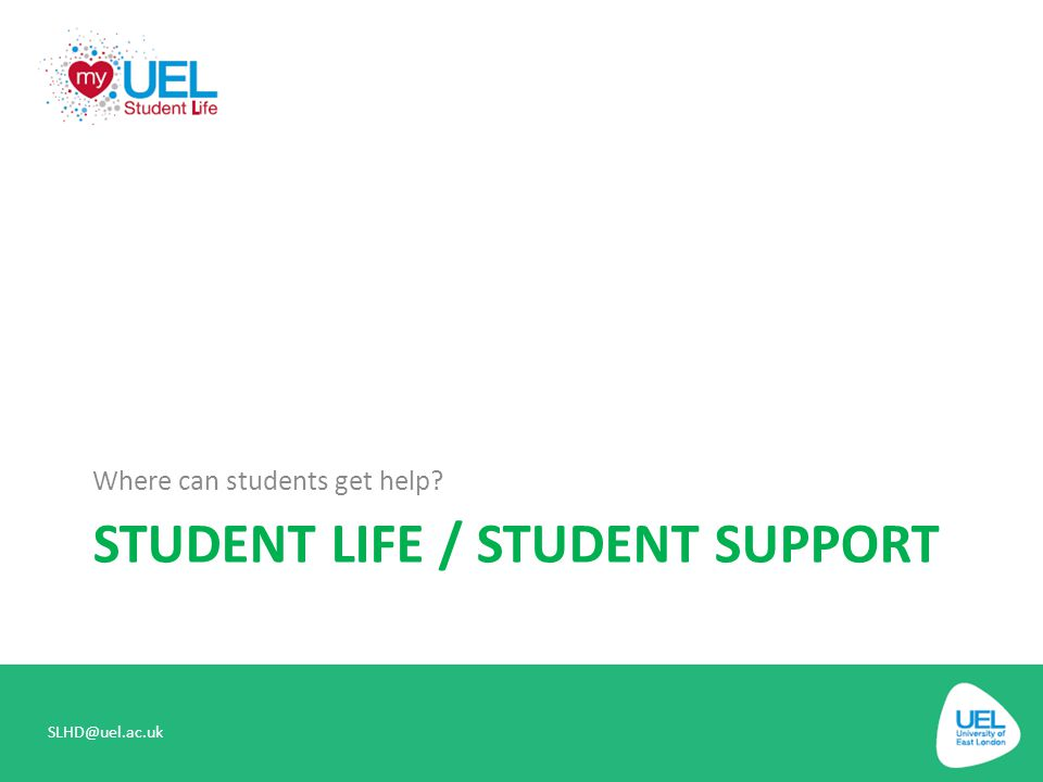 Student Life / student support