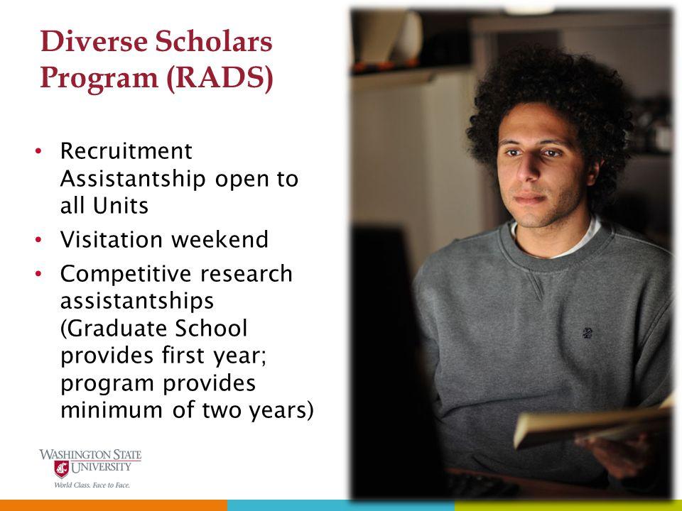 Diverse Scholars Program (RADS)