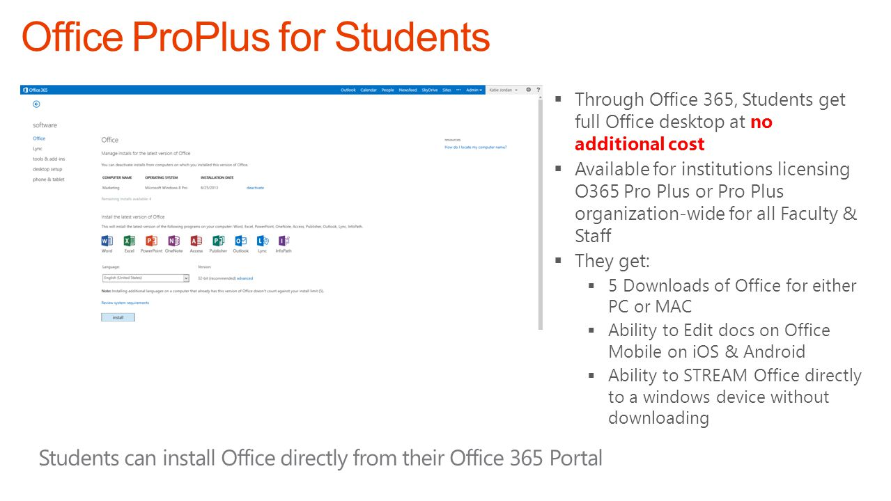 Office ProPlus for Students