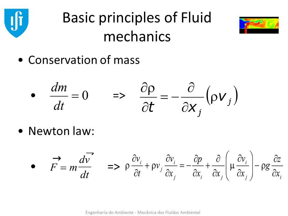 Eulerian and lagrangian description