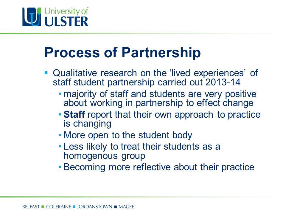 Process of Partnership