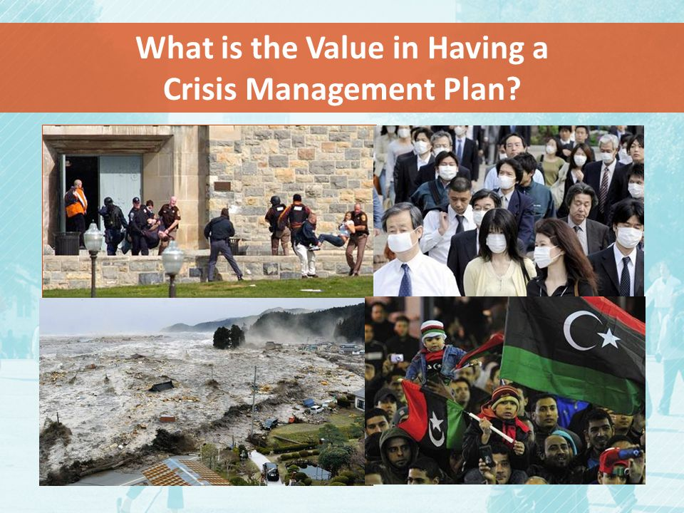 What is the Value in Having a Crisis Management Plan