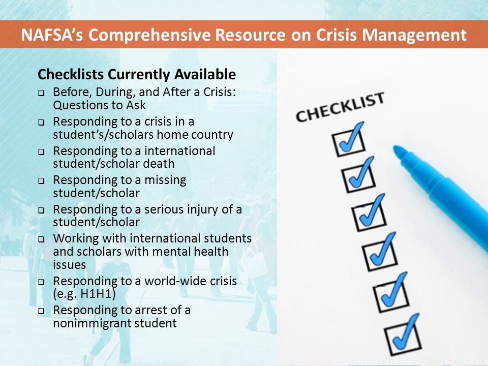 NAFSA's Comprehensive Resource on Crisis Management