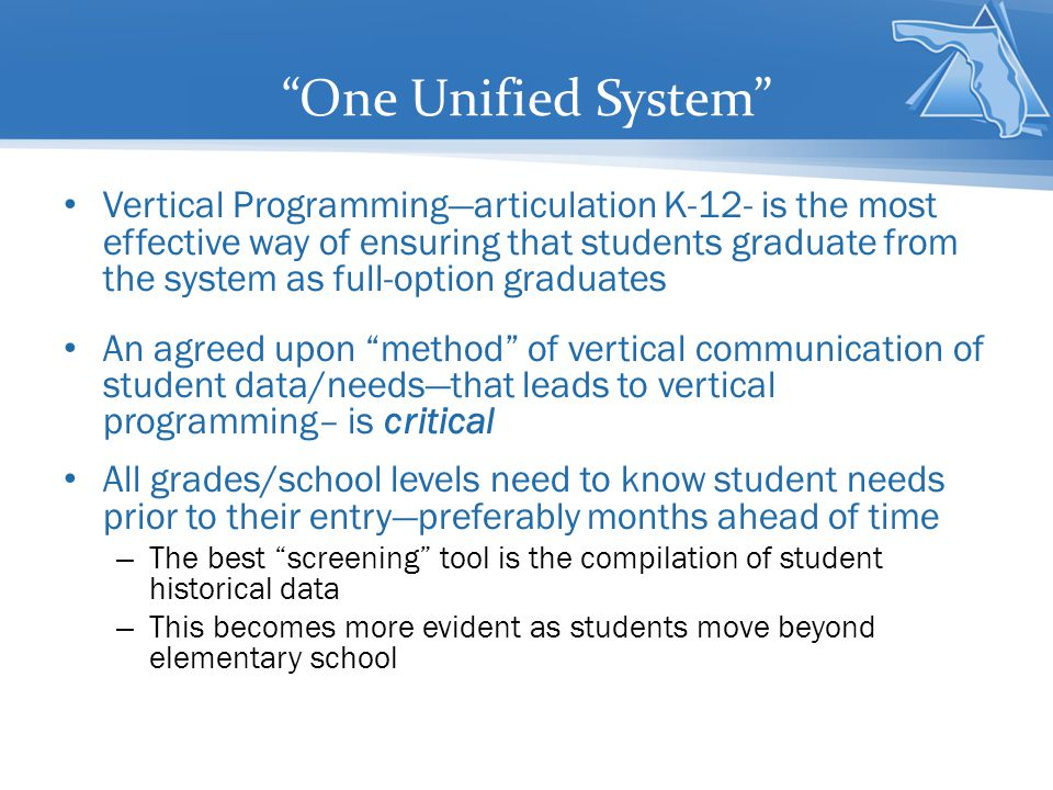One Unified System