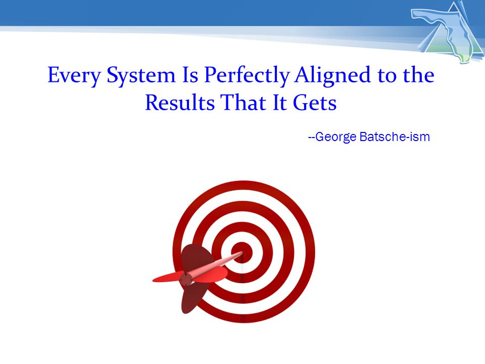 Every System Is Perfectly Aligned to the Results That It Gets