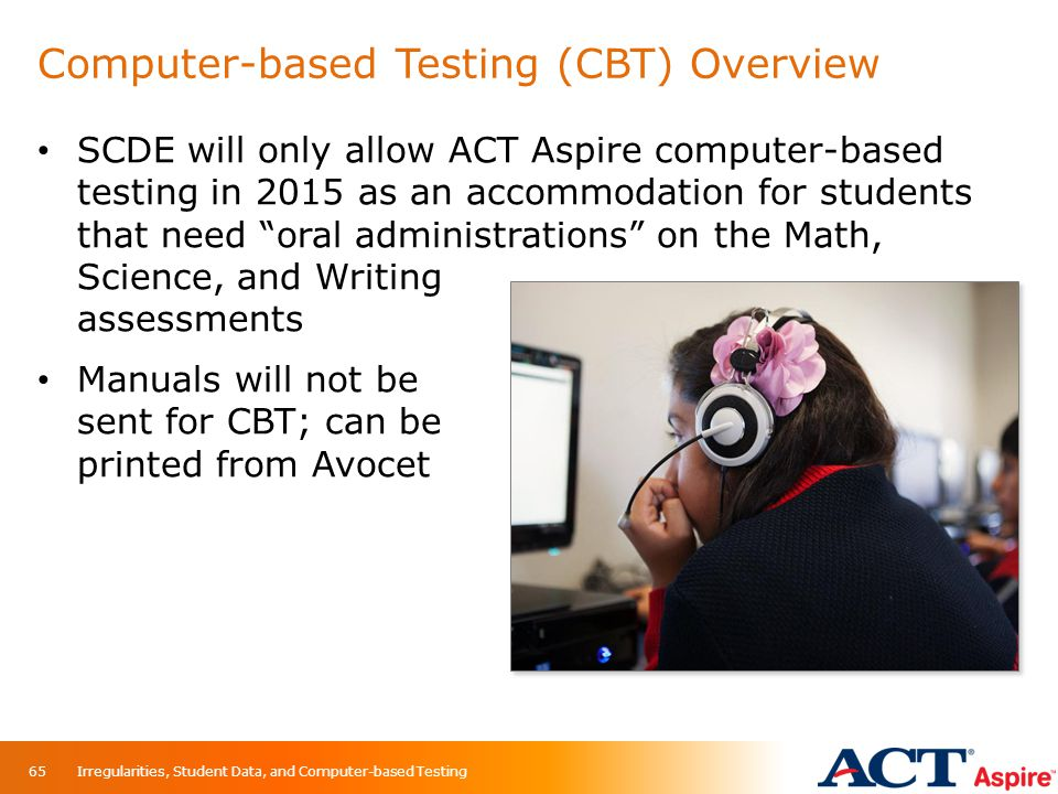 Computer-based Testing (CBT) Overview