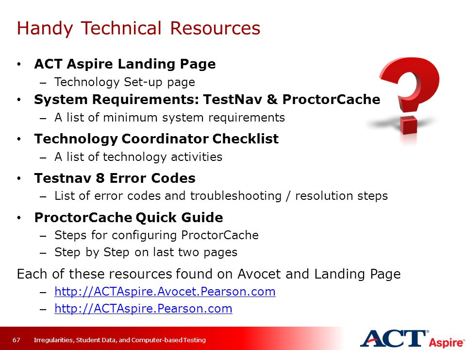 Handy Technical Resources
