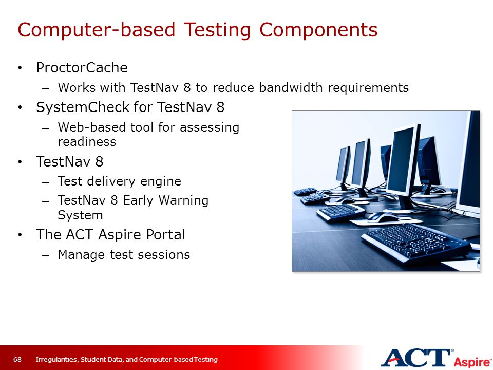 Computer-based Testing Components