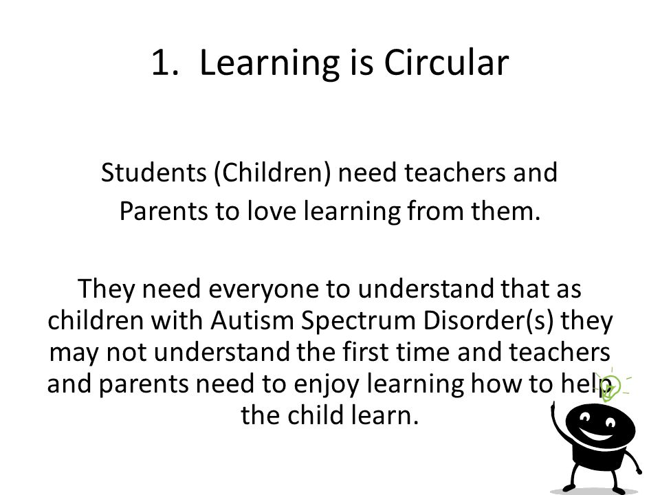 1. Learning is Circular