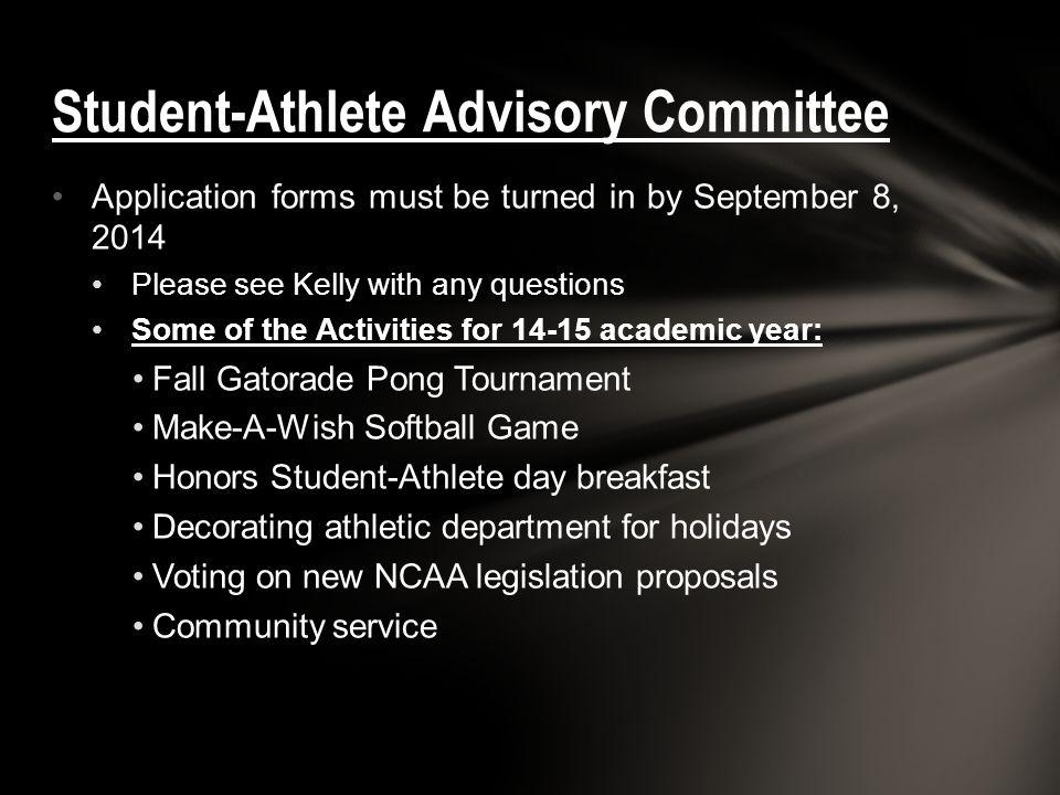 Student-Athlete Advisory Committee