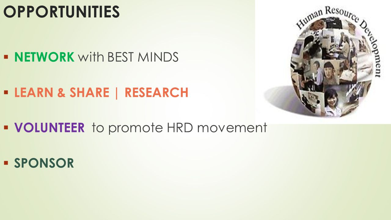 OPPORTUNITIES NETWORK with BEST MINDS LEARN & SHARE | RESEARCH