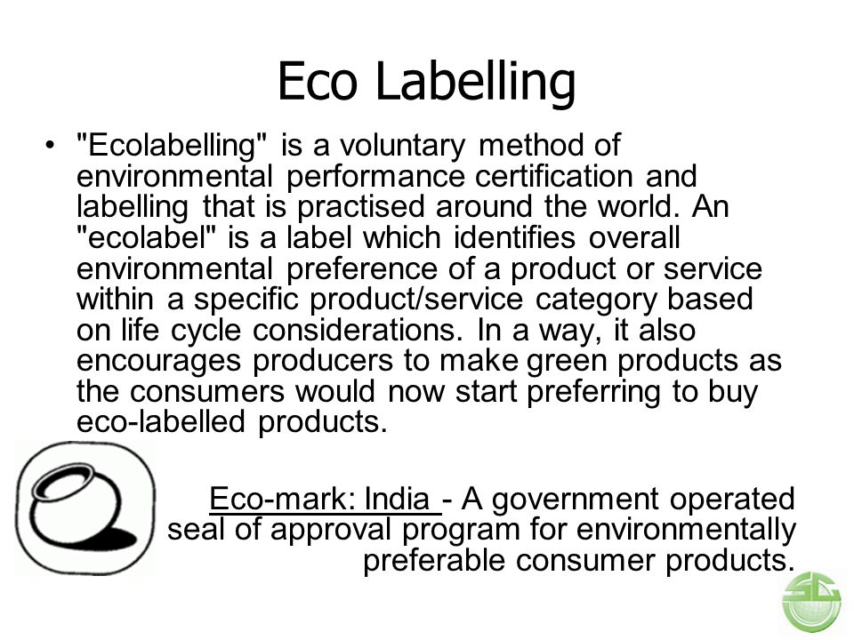 Eco Labelling