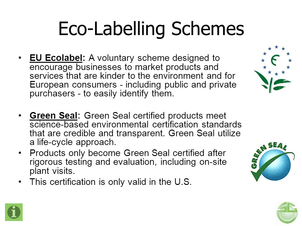Eco-Labelling Schemes