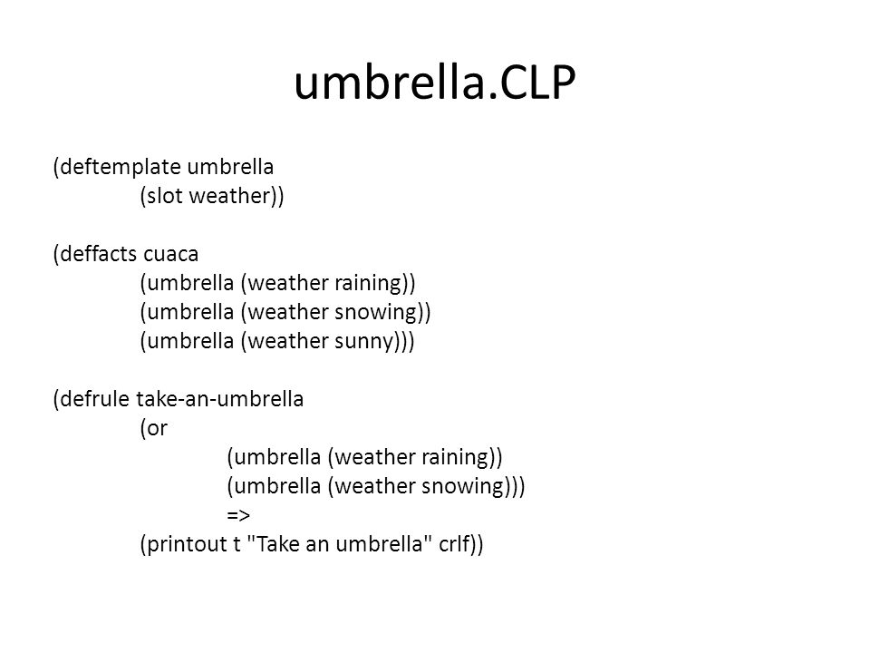 umbrella.CLP