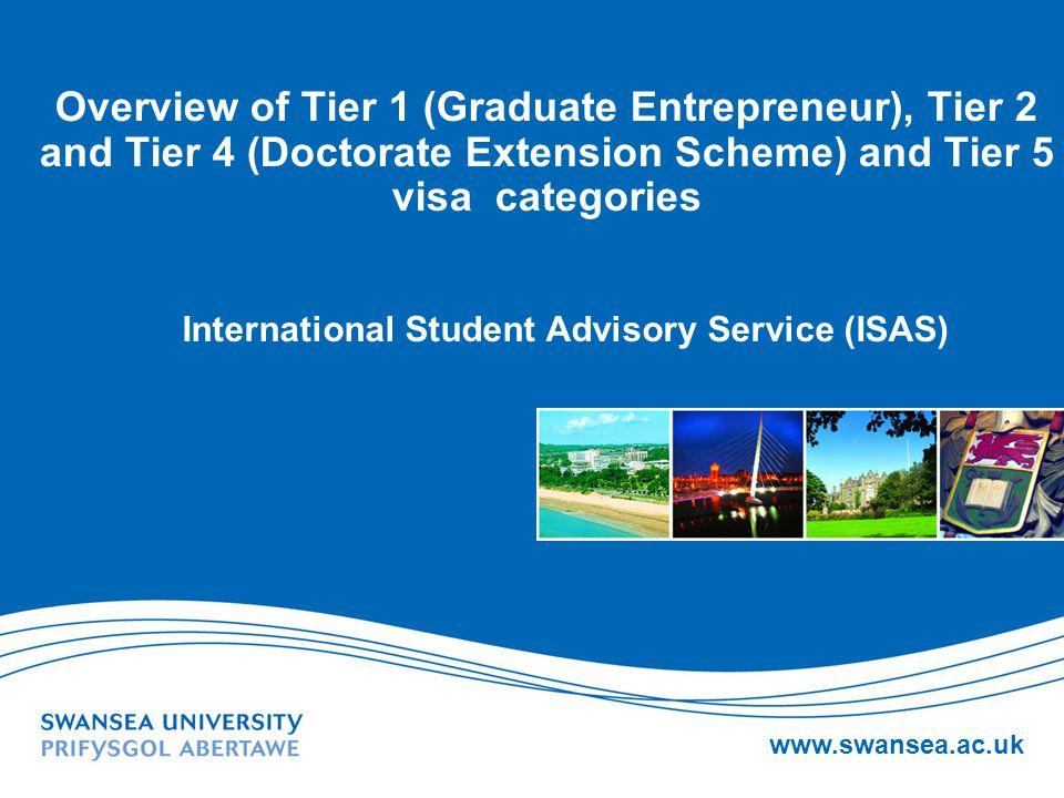 International Student Advisory Service (ISAS)