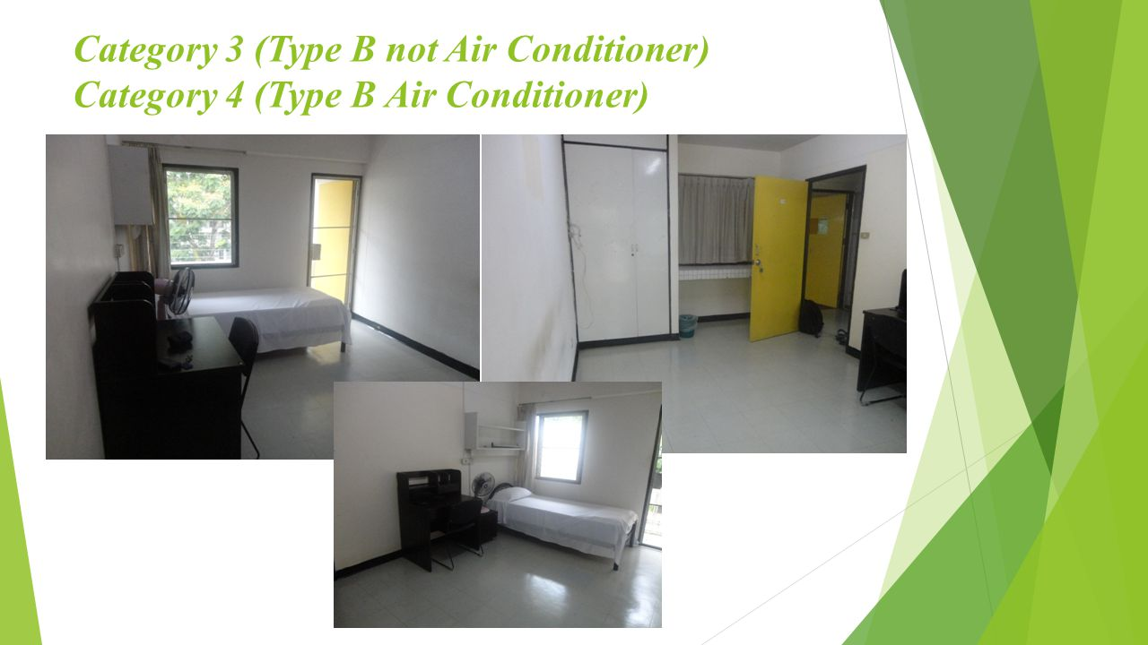 Category 3 (Type B not Air Conditioner) Category 4 (Type B Air Conditioner)