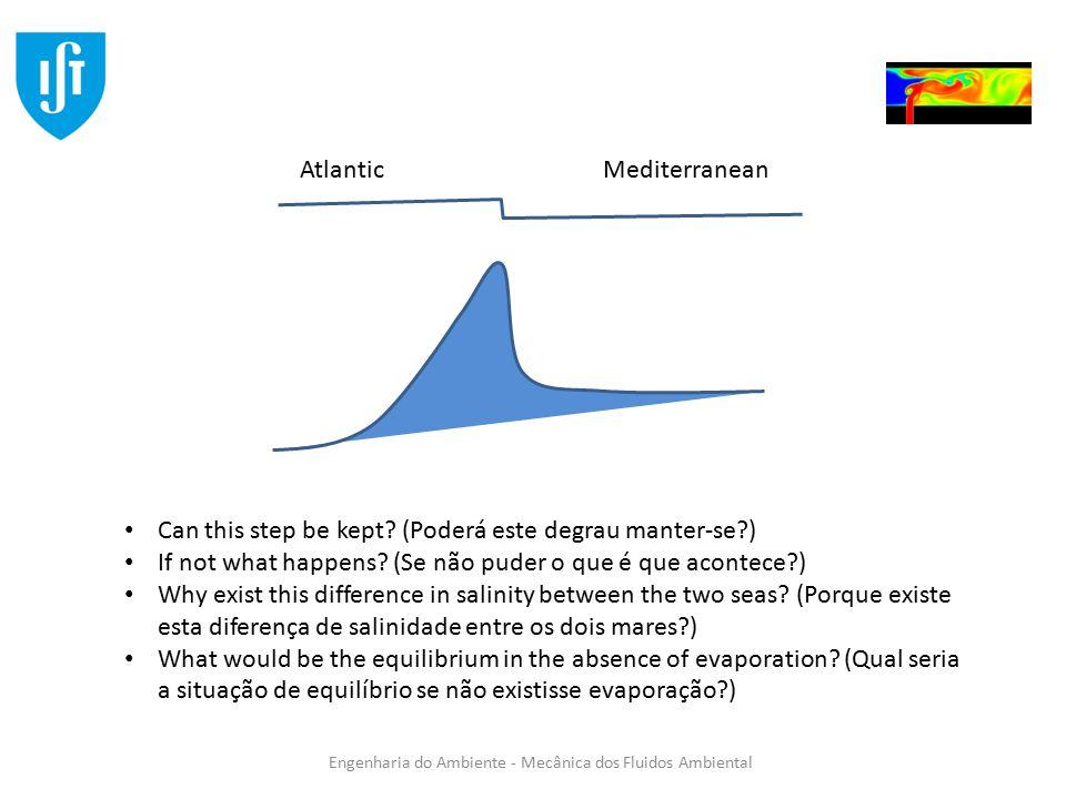 Atlantic Mediterranean. Can this step be kept (Poderá este degrau manter-se ) If not what happens (Se não puder o que é que acontece )