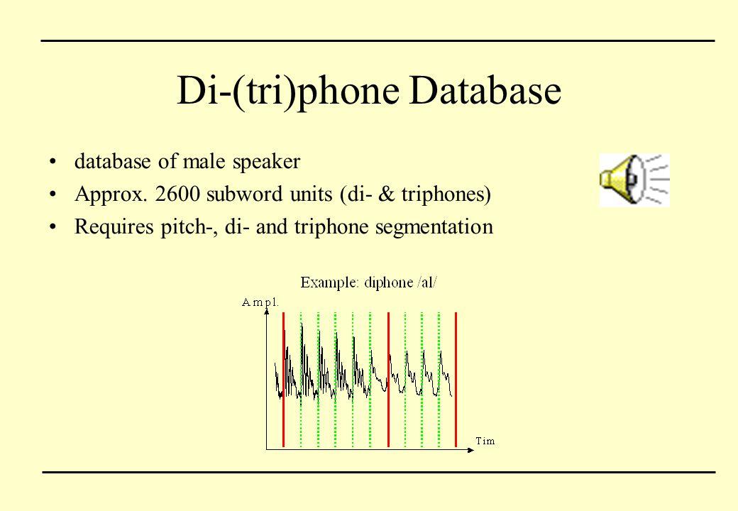 Di-(tri)phone Database
