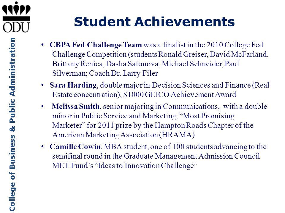 Student Achievements