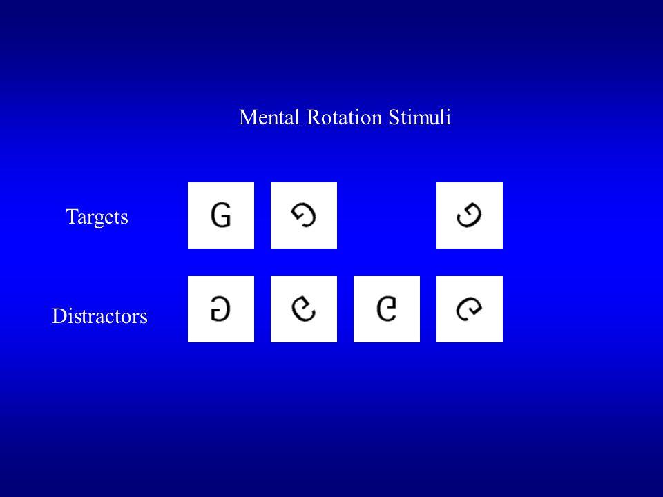 Mental Rotation Stimuli