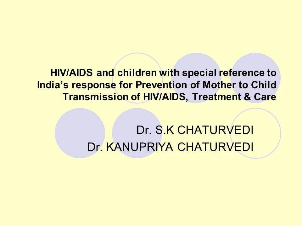 Dr. S.K CHATURVEDI Dr. KANUPRIYA CHATURVEDI
