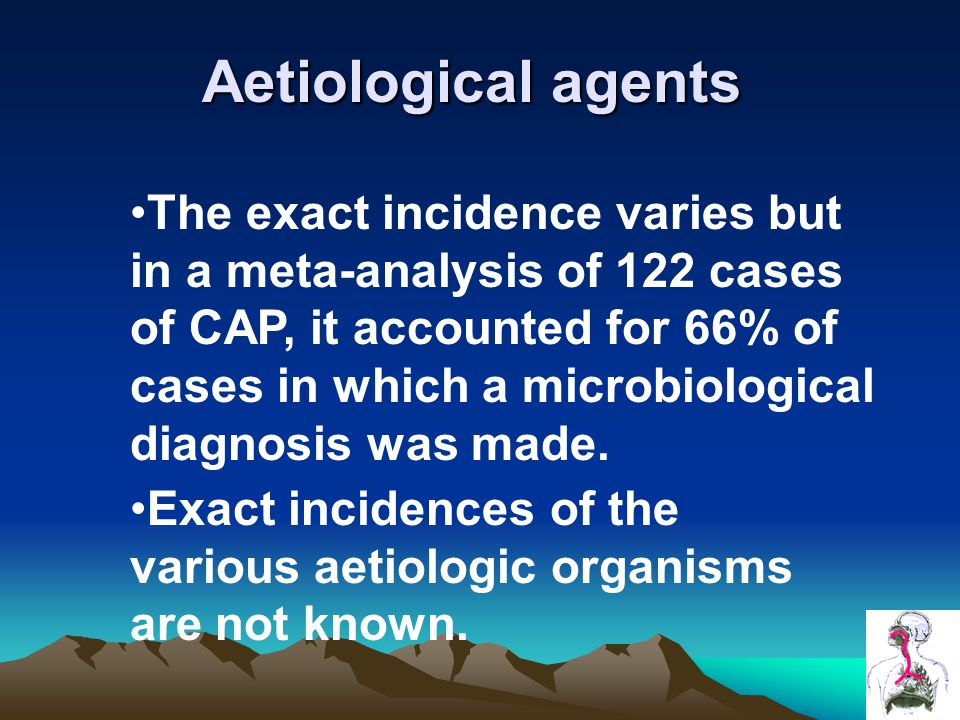 Aetiological agents
