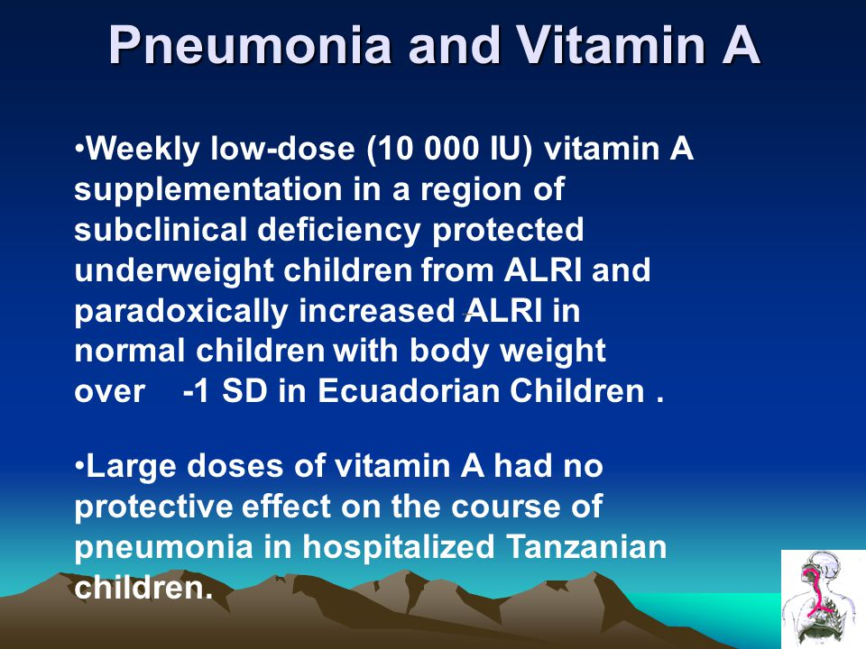 Pneumonia and Vitamin A