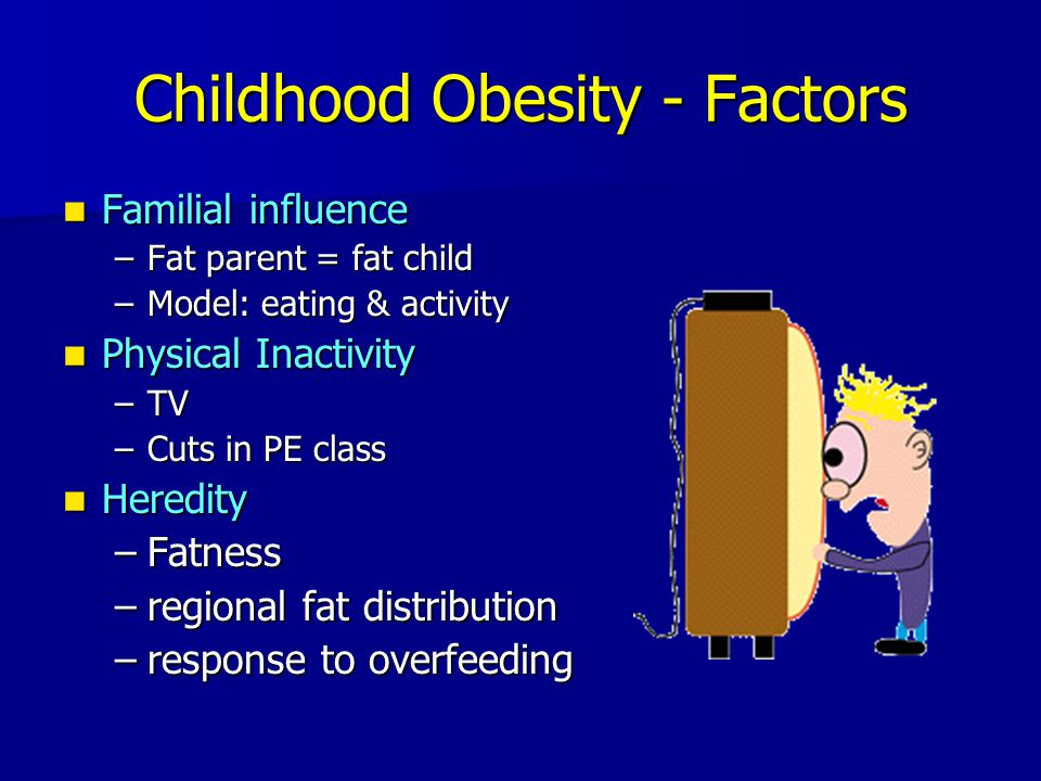 Childhood Obesity - Factors